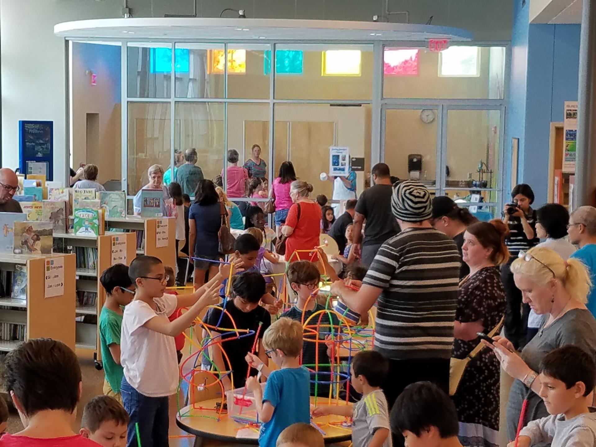 Children's room during Maker Pfest