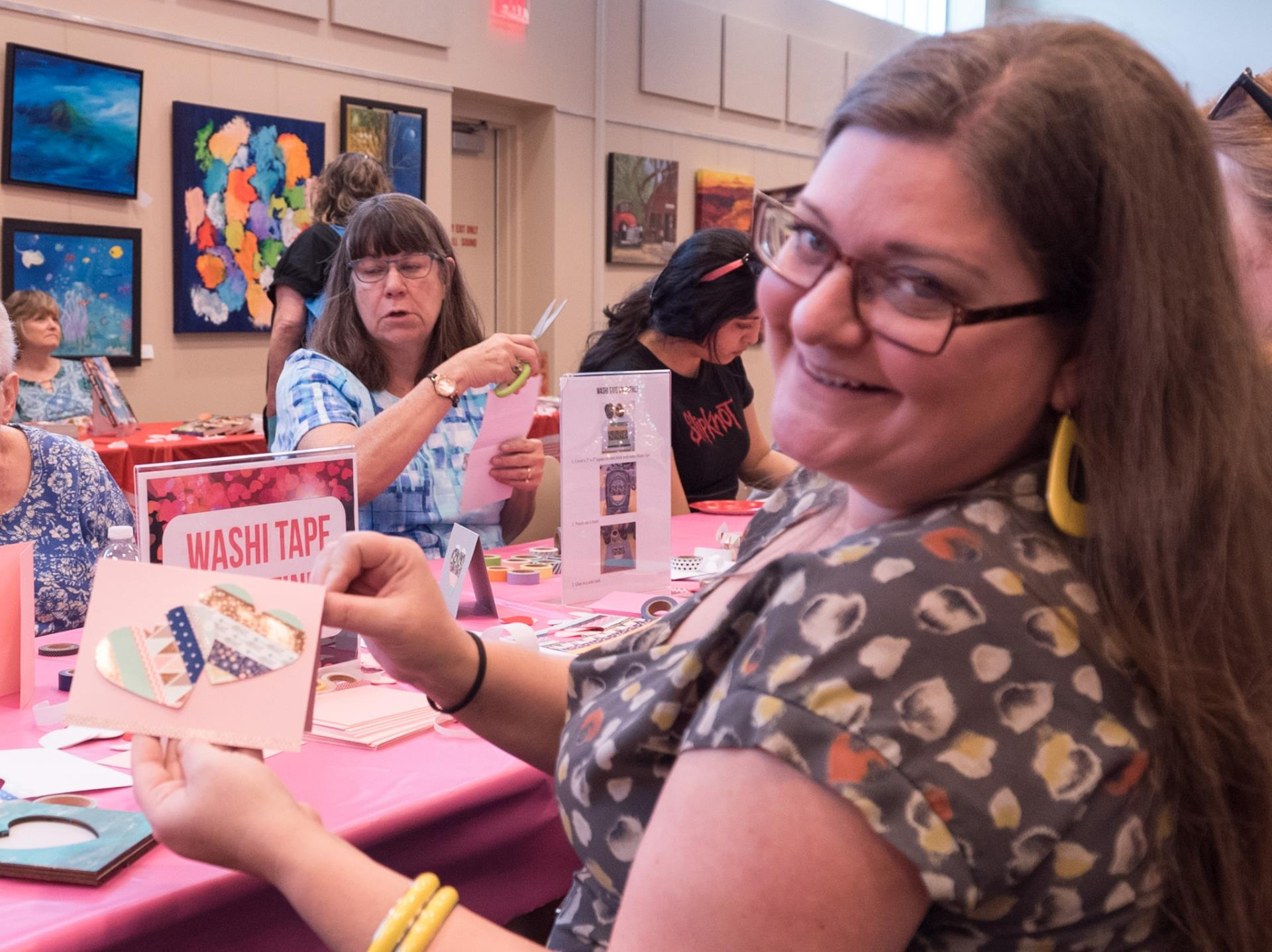 Romance Readers' Social Crafts Table