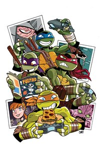 TMNT_comicprint Chad Thomas