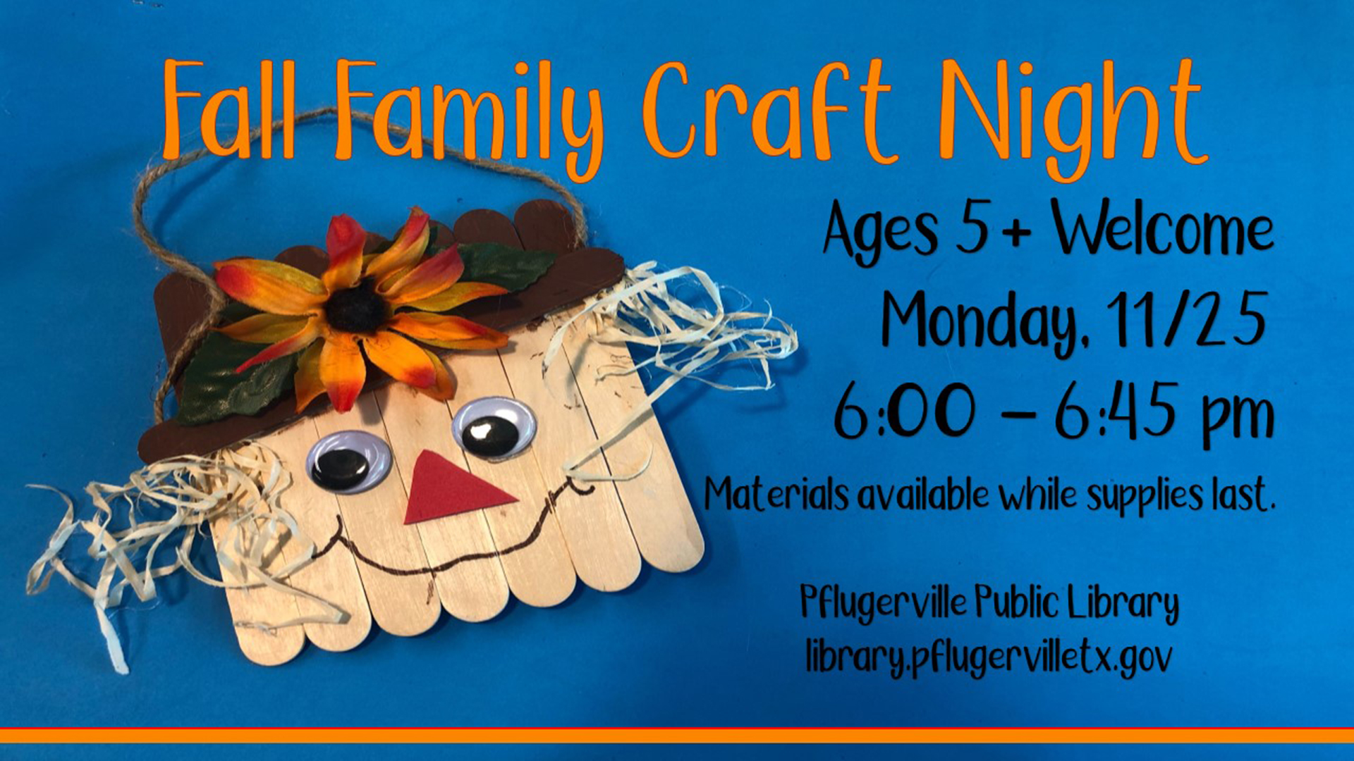 2019-11-25 Age 5+ Family Craft Night