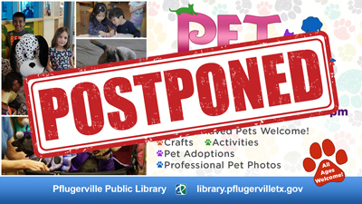 Pet Pfest Postponed