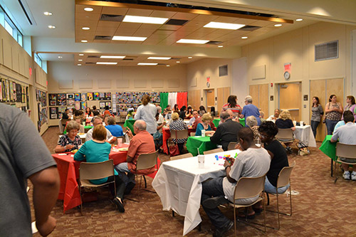 Pflugerville Public Library Volunteer appreciation dinner