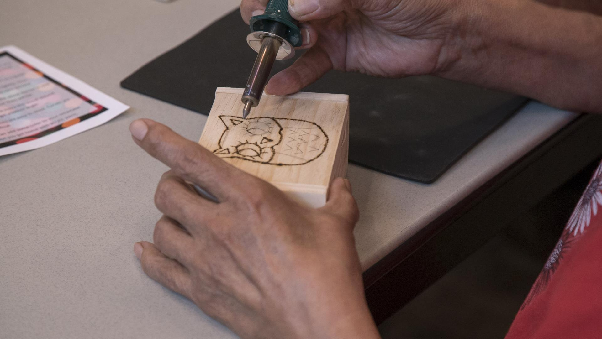 wood burning class