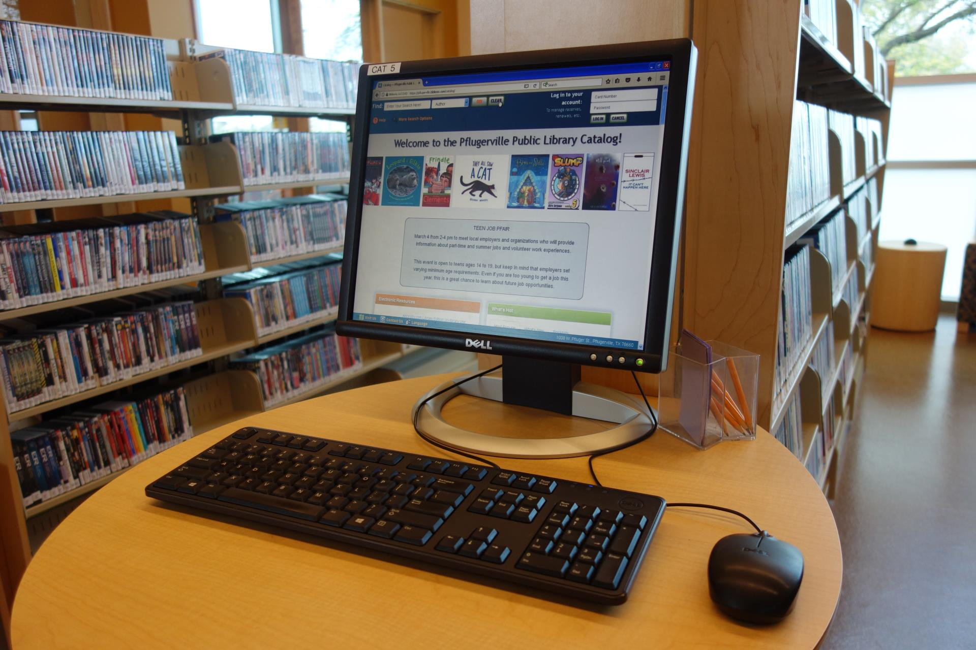 Books Amp Media Pflugerville Public Library