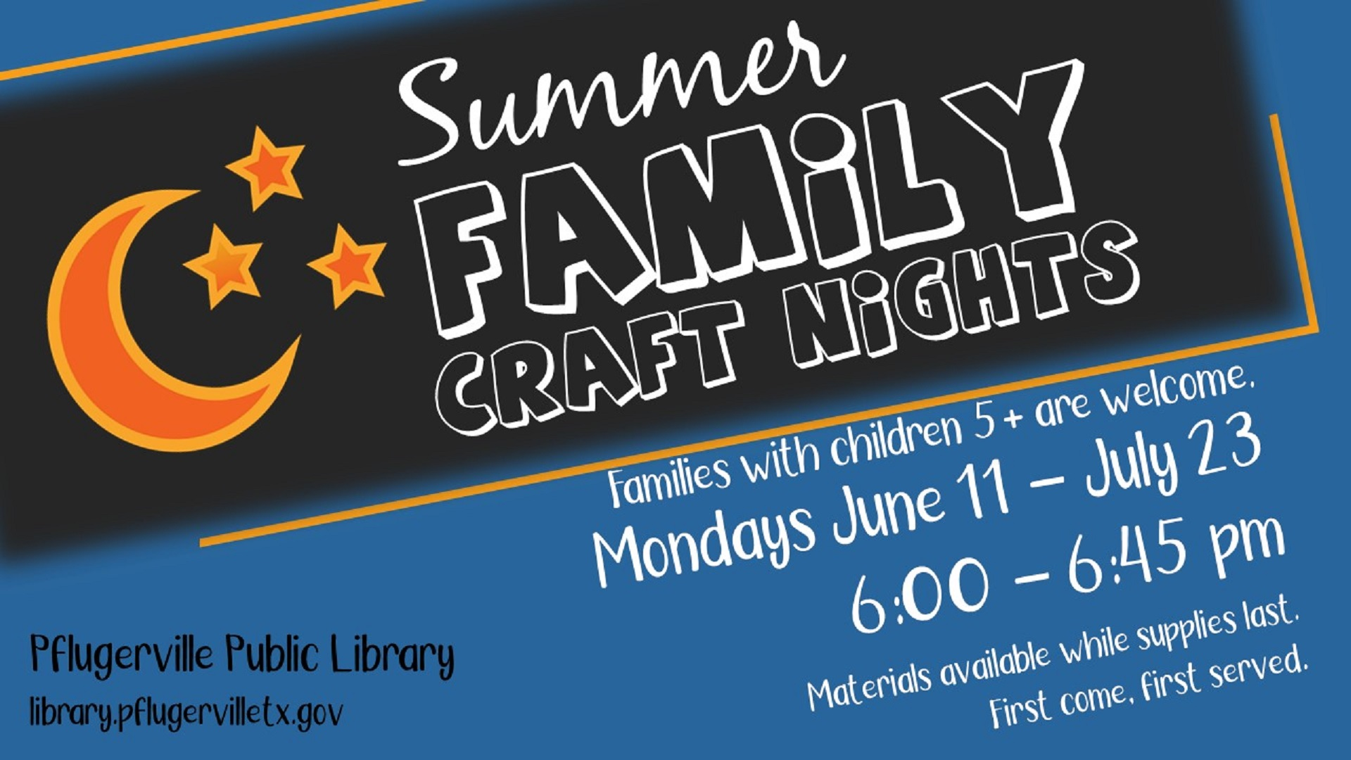 2018-07-26 Family Craft Nights