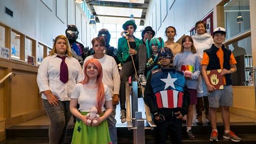 Comic Con teens